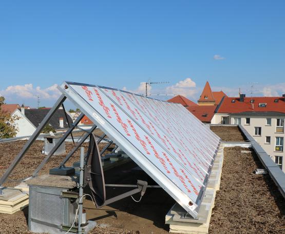 énergie solaires capteurs solaires thermiques